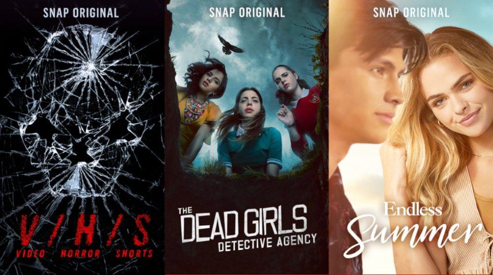 Snap Originals Snapchat streaming serier / Filmz.dk