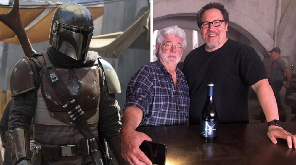 The Mandalorian George Lucas / Filmz.dk