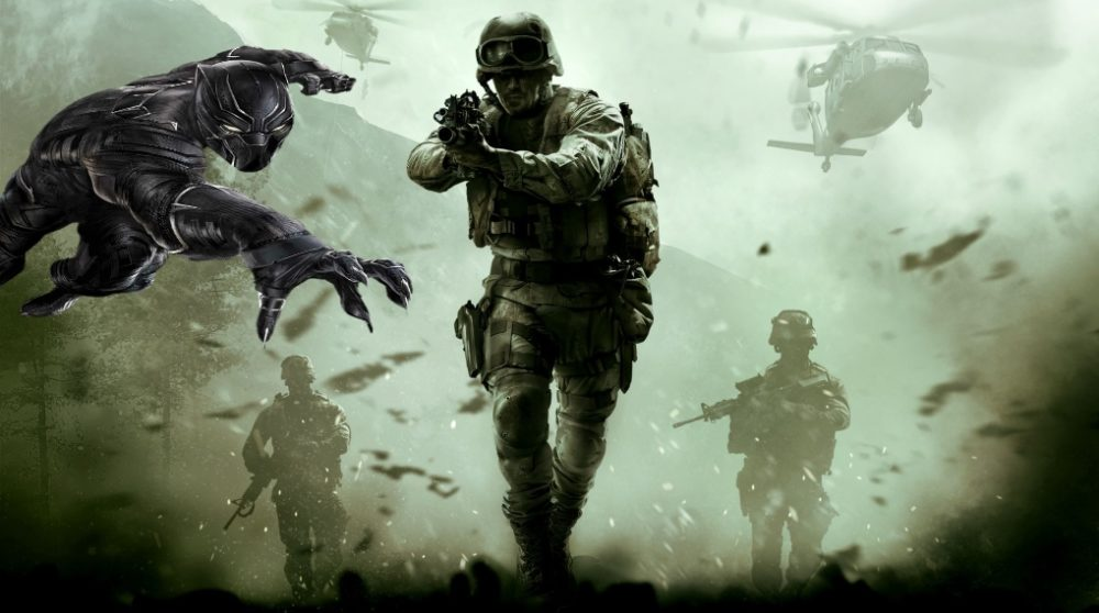 Call of Duty 2 manuskript Black Panther / Filmz.dk