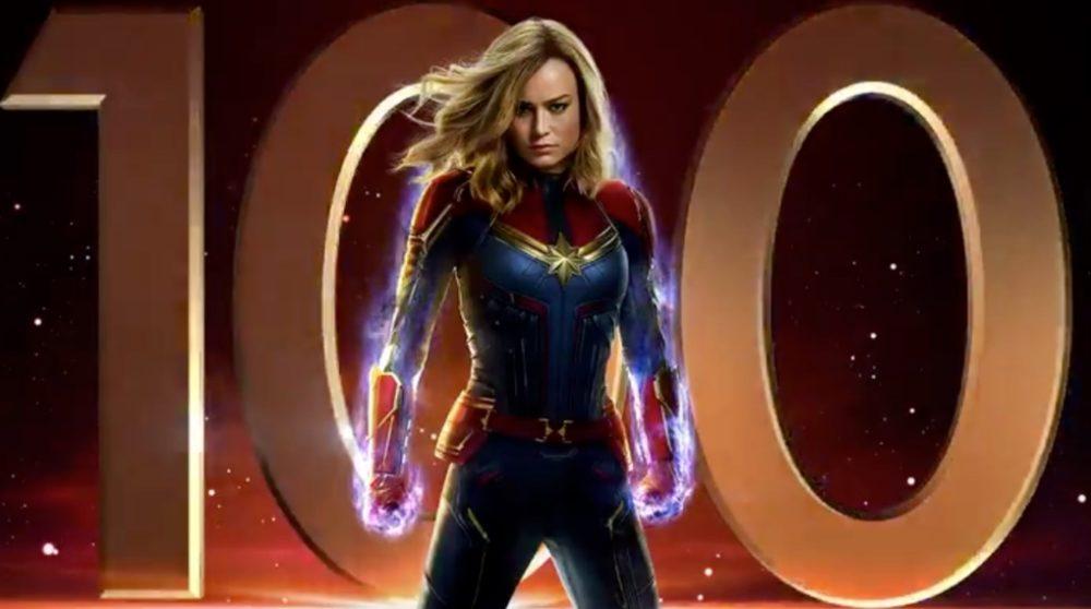 100 dage Captain Marvel / Filmz.dk