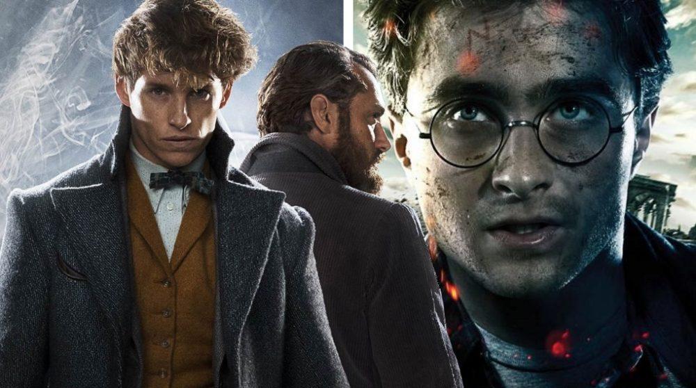 Harry Potter Fantastic Beasts forbindelse / Filmz.dk