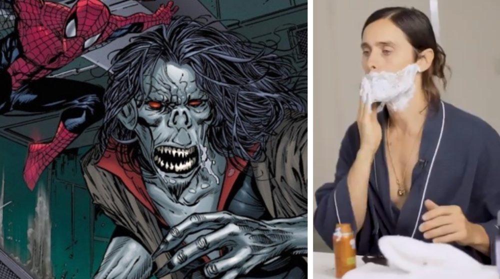 Jared Leto teaser Morbius barbering Venom / Filmz.dk
