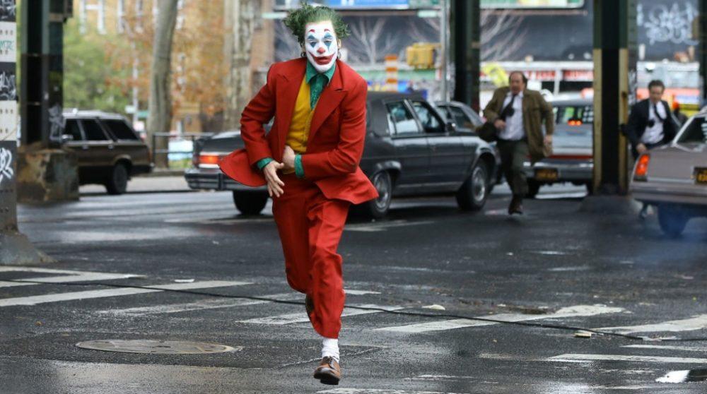 Joker jagt flugt scene optagelse video / Filmz.dk