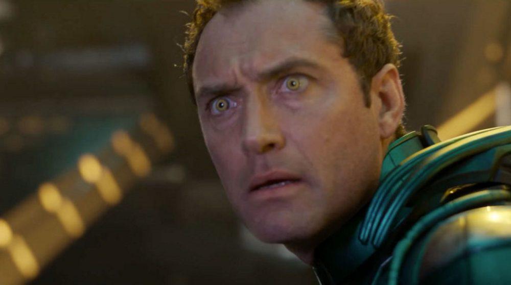 Jude Law Captain Marvel / Filmz.dk