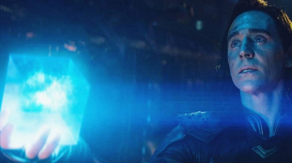 Loki Avengers Infinity War falsk manuskript / Filmz.dk