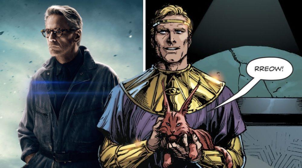Ozymandias Watchmen serie Jeremy Irons / Filmz.dk