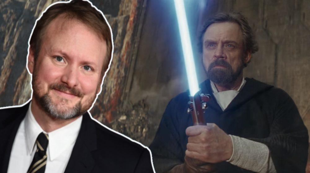 Rian Johnson The Last Jedi Luke Skywalker / Filmz.dk