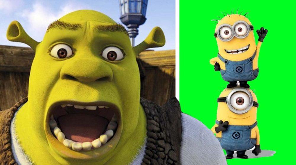 Shrek reboot Grusomme mig minions / Filmz.dk
