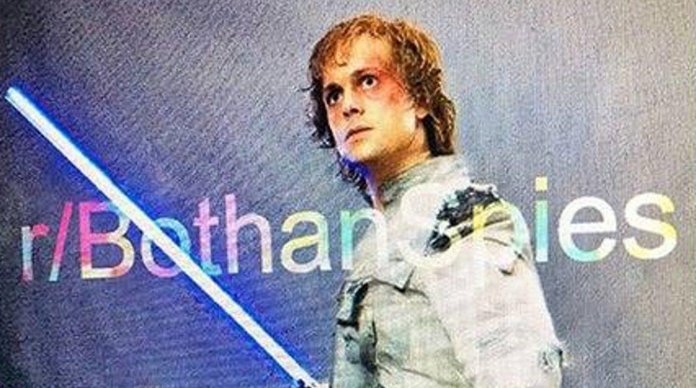 Unge Luke Skywalker The Force Awakens / Filmz.dk