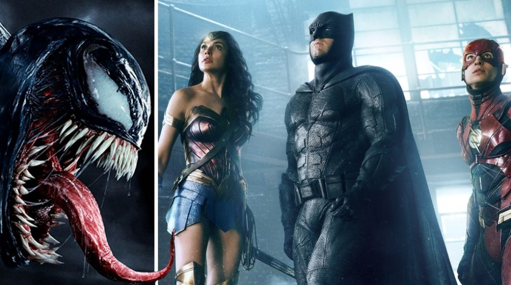 Venom billetsalg box office Justice League / Filmz.dk