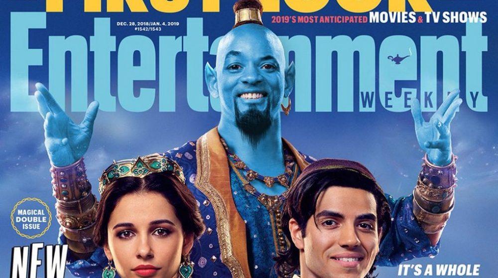 Aladdin Genie blå will smith / Filmz.dk