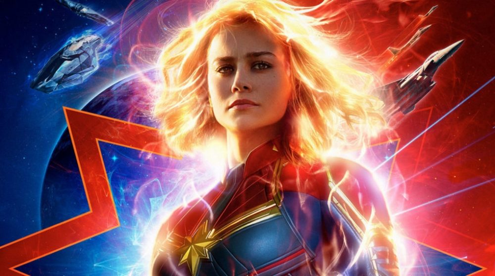 Captain Marvel plakat / Filmz.dk