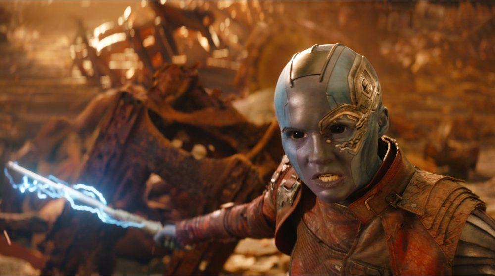 Nebula rolle Avengers Endgame Thanos Marvel / Filmz.dk
