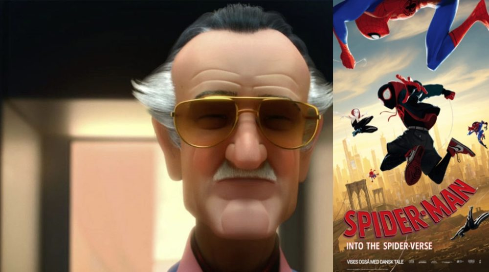 Stan Lee cameo Spider-Man Into the Spider-Verse / Filmz.dk