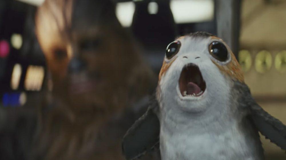Star Wars Episode IX dropper porgs dj / Filmz.dk