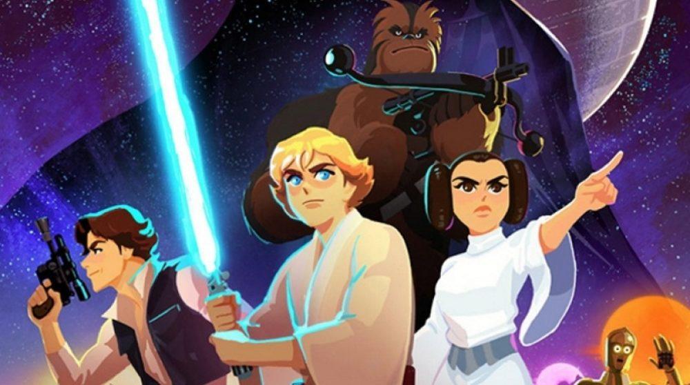 Star Wars Galaxy of Adventures seks første afsnit gratis youtube / Filmz.dk
