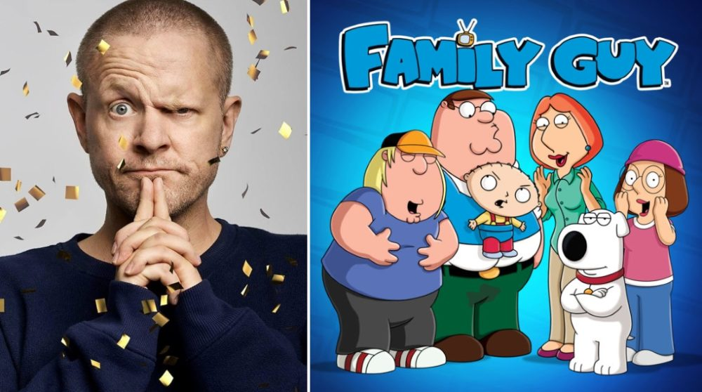 Anders Matthesen Family Guy homo jokes / Filmz.dk