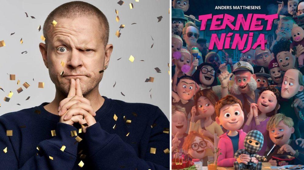 Anders Matthesen Bodil nomineringer Ternet Ninja / Filmz.dk