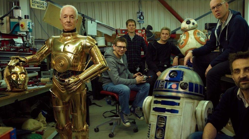 Anthony Daniels C-3PO optagelser star wars Episode IX / Filmz.dk