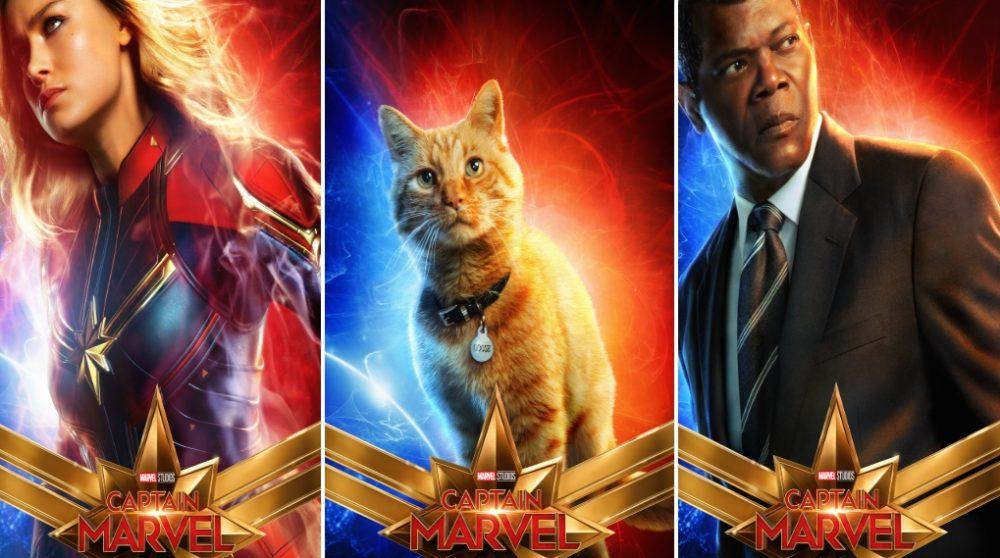Captain Marvel 10 plakater / Filmz.dk