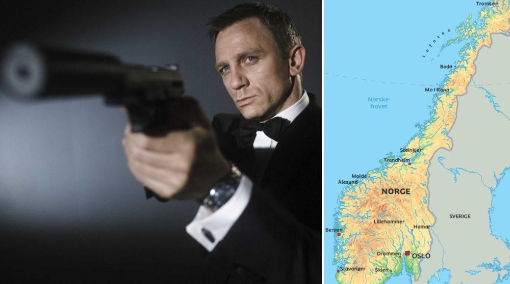 James Bond Norge Bond 25 / Filmz.dk