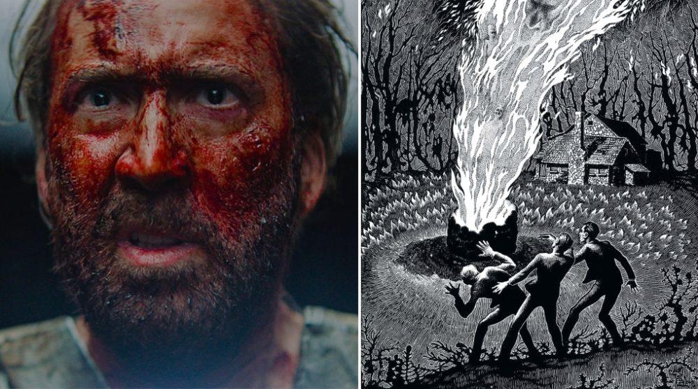 Mandy Nicolas Cage Lovecraft Color Out of Space / Filmz.dk