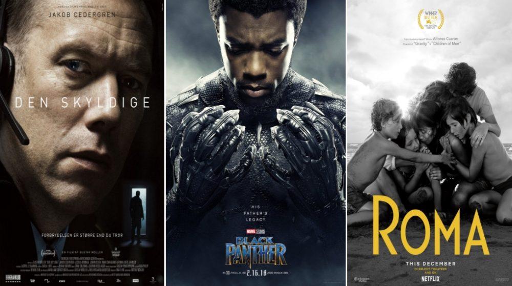 Rotten Tomatoes årets bedste film 2018 / Filmz.dk