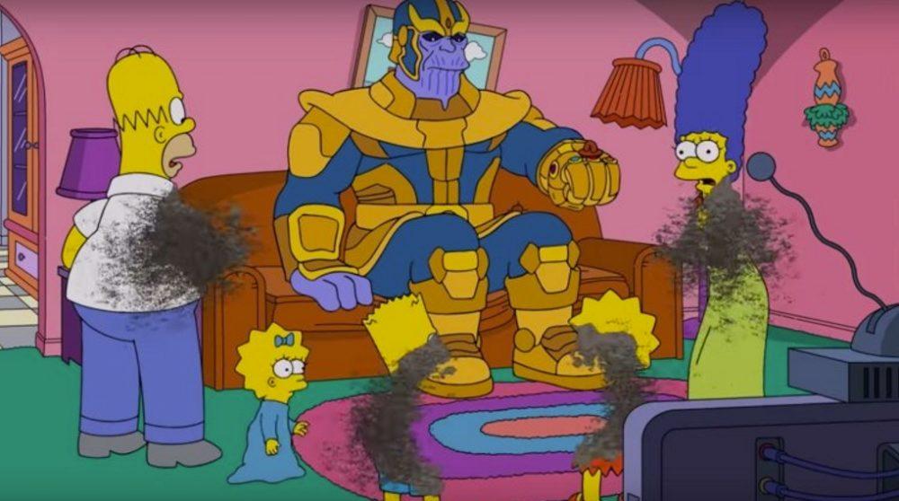 Thanos the simpsons / Filmz.dk
