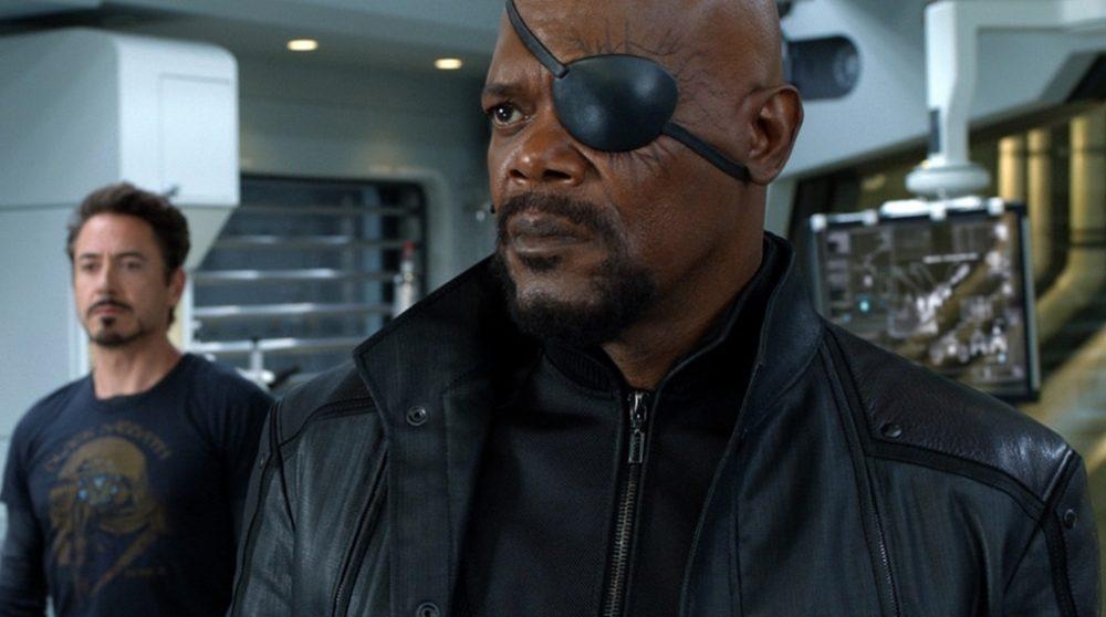 tidsrejse captain marvel nick fury avengers endgame / Filmz.dk