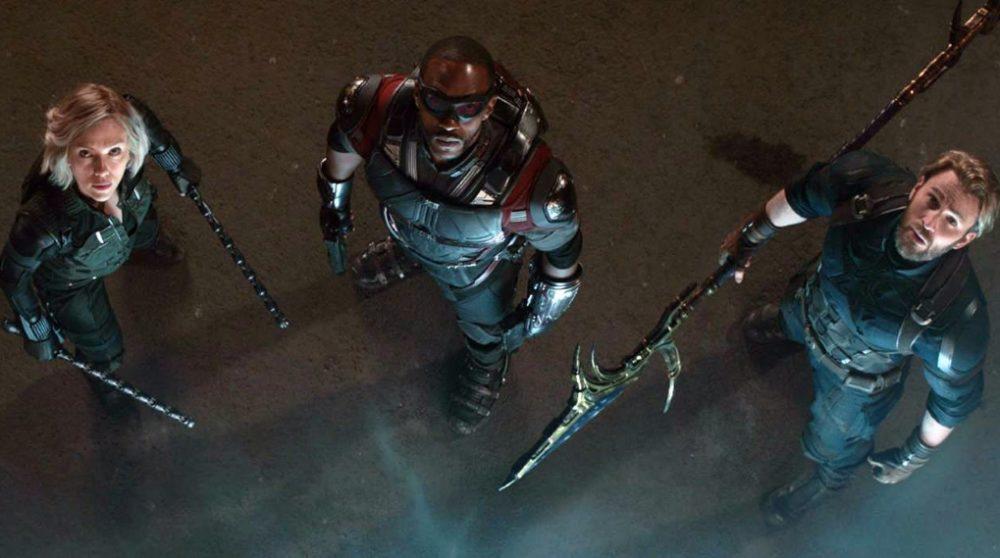 Falcon død infinity war avengers endgame / Filmz.dk