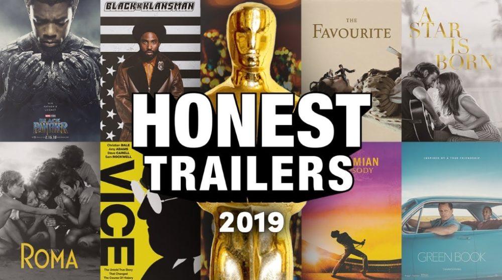 Honest trailers Oscar 2019 / Filmz.dk
