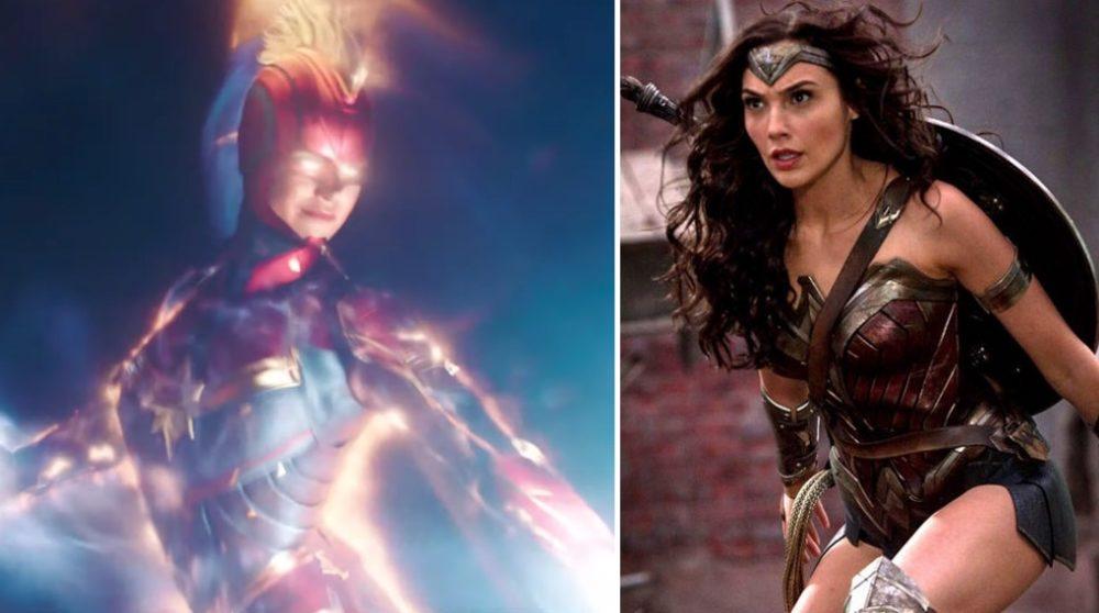 Captain Marvel global åbning største kvindelige superhelt / Filmz.dk