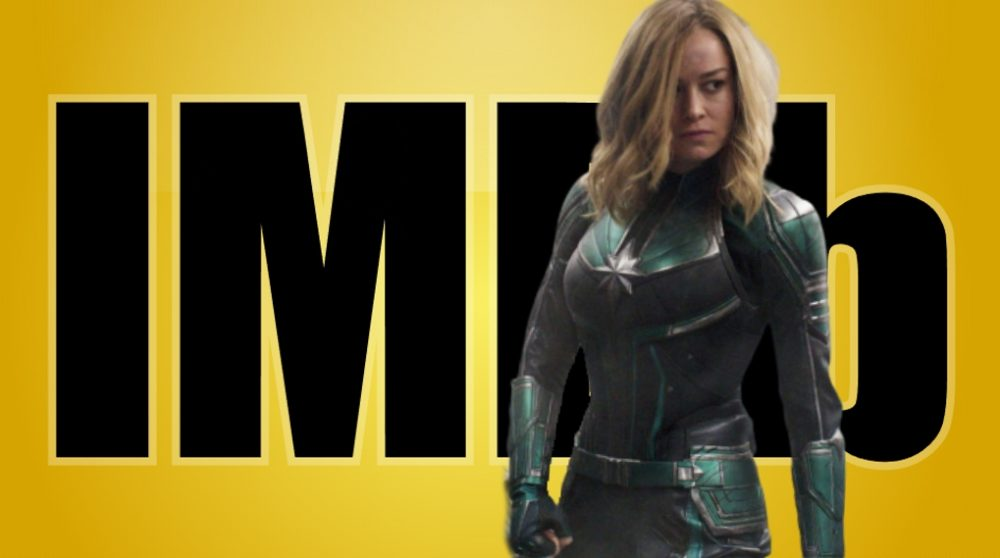 Captain Marvel IMDb trolls score / Filmz.dk