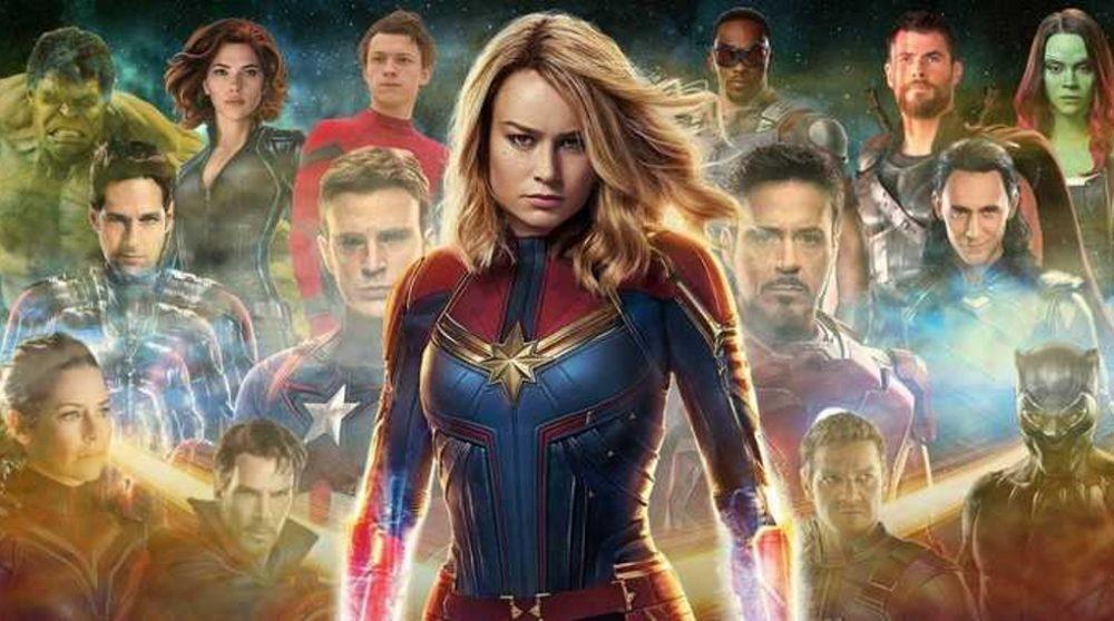 Captain Marvel Marvel Cinematic Universe største franchise / Filmz.dk