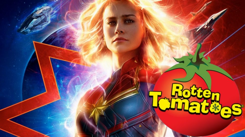 Captain Marvel Rotten Tomatoes score / Filmz.dk