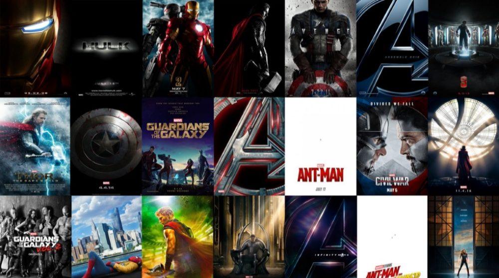 Marvel Maraton 21 MCU film alle før Avengers Endgame / Filmz.dk