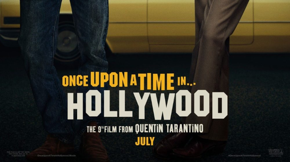 Once Upon a Time in Hollywood Tarantino plakat / Filmz.dk