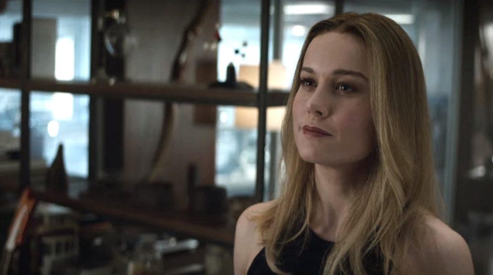 Avengers Endgame Brie Larson Captain Marvel udseende / Filmz.dk