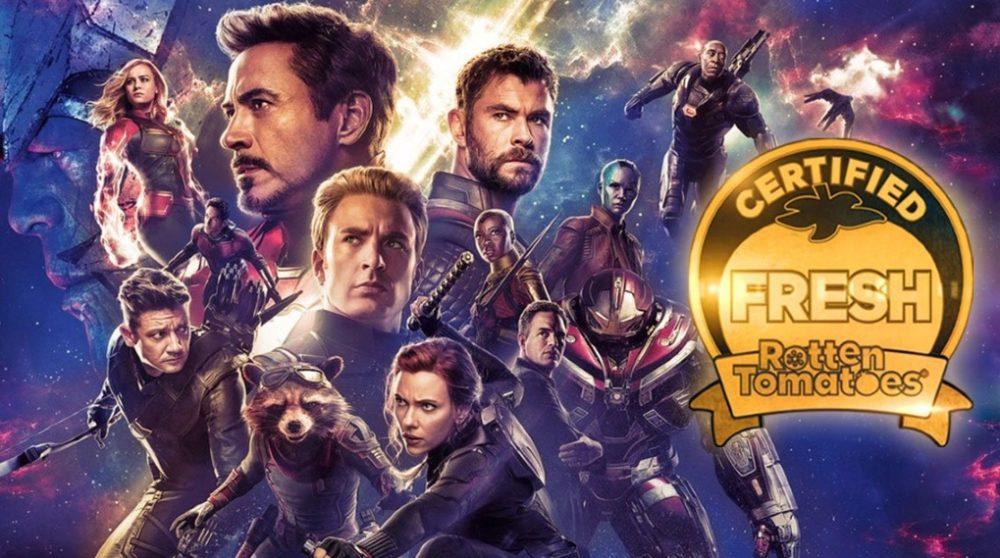 Avengers Endgame Rotten Tomatoes / Filmz.dk