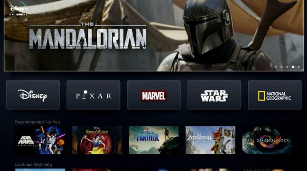 Disney Plus binge watching The Mandalorian Netflix / Filmz.dk