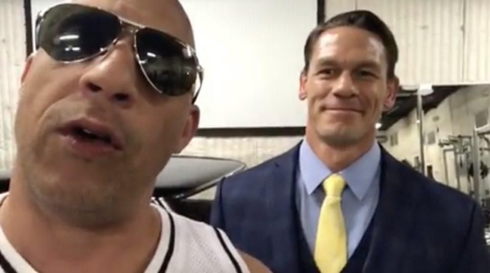 Fast Furious 9 John Cena Vin Diesel / Filmz.dk