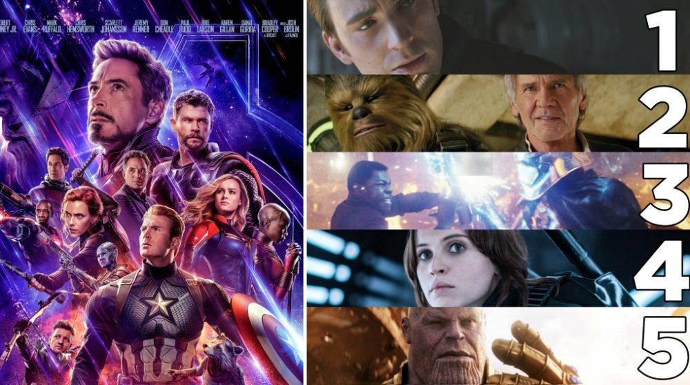 Rekord forslag Avengers Endgame / Filmz.dk