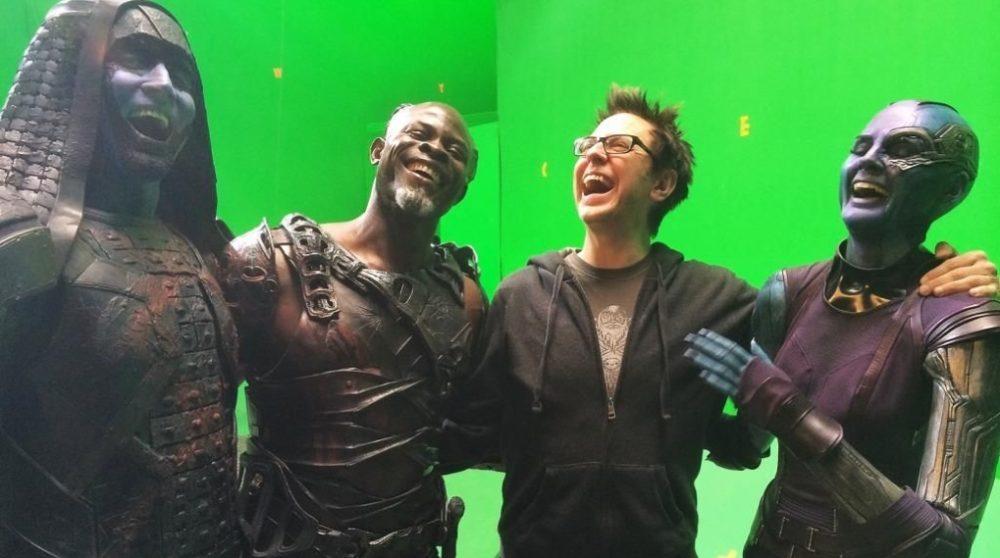 James Gunn Avengers Endgame kredit / Filmz.dk