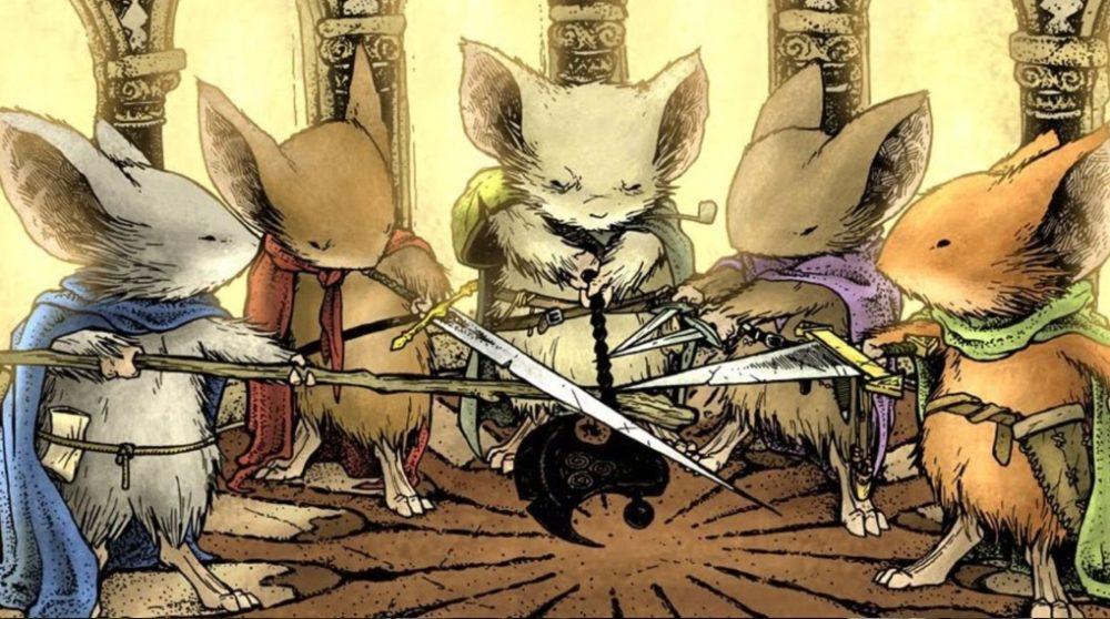 Mouse Guard Disney dropper Fox / Filmz.dk