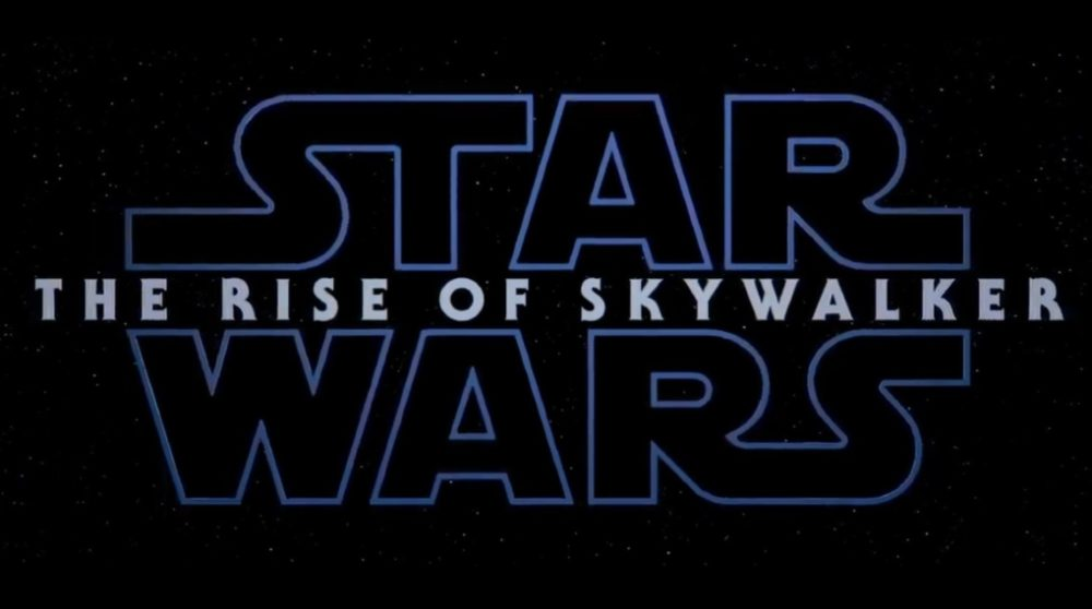Star Wars titel episode ix the rise of skywalker / Filmz.dk