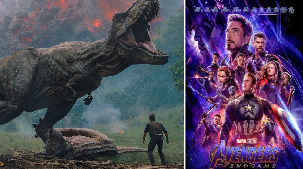 Avengers Endgame femtestørst billetsalg Jurassic World / Filmz.dk