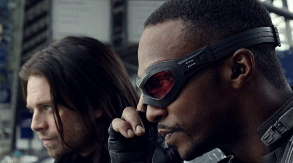 Avengers Endgame Captain America Falcon / Filmz.dk