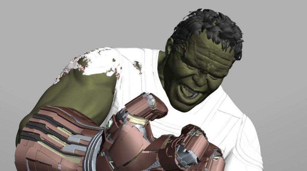 Avengers Endgame Hulk Anyma teknologi / Filmz.dk