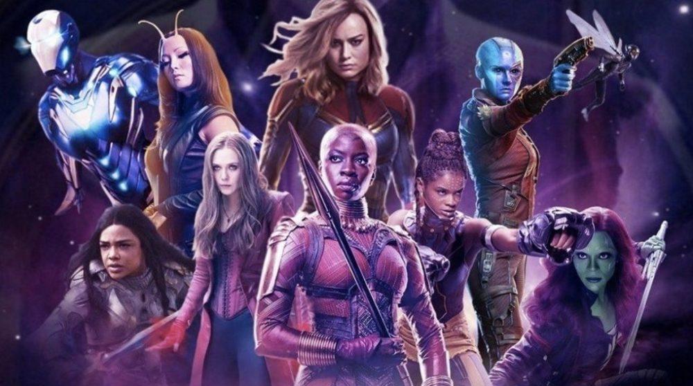 Avengers Endgame kvinder scene Marvel / Filmz.dk