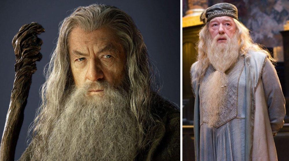 Game of Thrones Gandalf Dumbledore / Filmz.dk